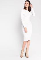 Glamorous - Pencil skirt - white