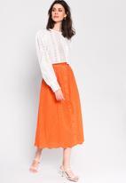 Glamorous - Anglaise blouse - white