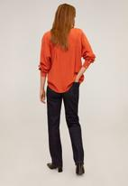 MANGO - Blouse lince - orange