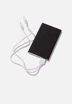 Typo - Charge it - black