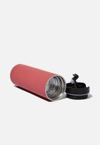 Typo - Travelling tea drinker - red