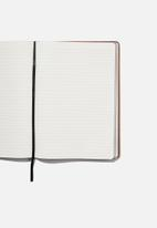 Typo - A4 buffalo journal - mid tan