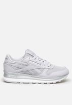 Reebok Classic - Classic Leather - sterling grey / silver met. / white