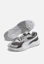 PUMA - 90s Runner - castlerock-high rise-puma white