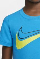 Nike - Nike boys swoosh sport style short sleeve tee - blue