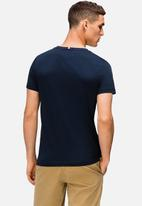 Tommy Hilfiger - Corp h tee - navy