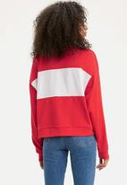 Levi's® - Madison crew sweater - red
