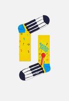Happy Socks - Bohemian Rhapsody sock - yellow