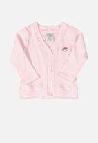 UP Baby - Girls cardigan - pink