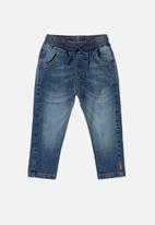 UP Baby - Baby boys jean - blue