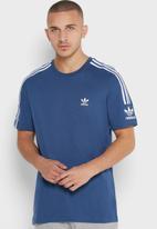 adidas Originals - Lock up short sleeve tee - blue