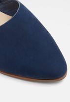 ALDO - Blanchette leather pump - navy