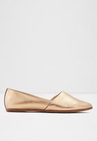 ALDO - Blanchette leather pump - bronze