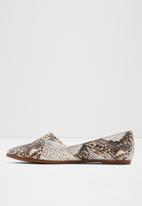 ALDO - Blanchette leather pump - neutral & brown