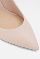 ALDO - Febriclya leather court - light pink