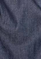 G-Star RAW - Denim hooded jacket - blue