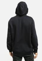 DC - Zip thru hooded sweat - black