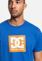 DC - Block logo popsicle tee - blue