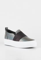 Miss Black - Abbey sneaker - pewter