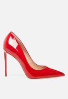 Steve Madden - Vala court - red patent