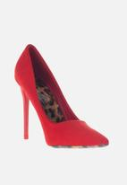 Sissy Boy - Luxe leopard court - red