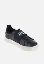 Sissy Boy - Gimmie glitter elastic sneaker - black