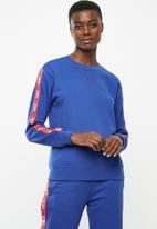 Nike - Logo tape crew - blue