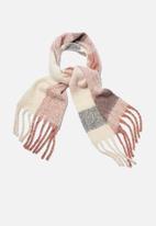 Rubi - Pippa brushed tassel scarf - multi