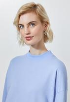 Superbalist - Funnel neck sweat - blue