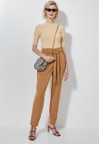 Superbalist - Paperbag trousers - tan