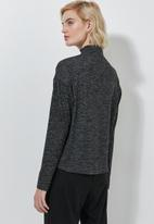 Superbalist - Soft touch poloneck - grey