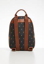 POLO - Classic backpack - black & brown