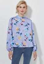 Superbalist - Hi neck blouse - multi