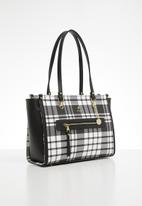 POLO - Barclay tote - black & white