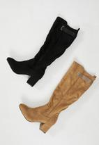 edit - Mandy knee-high boot - tan