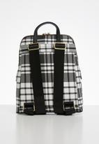 POLO - Barclay backpack - black & white