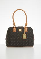 POLO - Iconic dome - black & brown