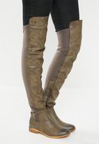 Miss Black - Krabi boot - grey