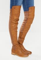 Miss Black - Krabi boot - tan