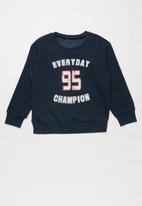 POP CANDY - Everyday champion boys sweatshirt - navy