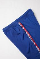 Converse - Tricot track pant  - blue & red