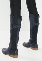Miss Black - Rainer boot - navy