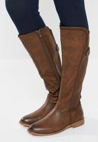 Miss Black - Rainer boot - brown