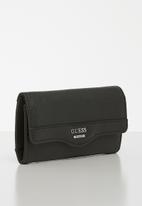 GUESS - Modesto slg slim purse - black