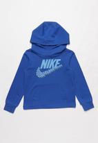 Nike - Nike sportswear jersey hoodie - carbon heather