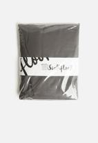 Sixth Floor - Cotton fitted sheet - charcoal