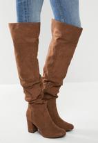 Madison® - Kira over the knee boot - brown