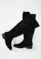 Madison® - Kim over the knee boot - black