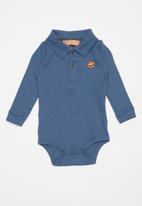 UP Baby - Golfer bodysuit - blue