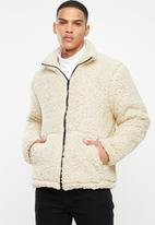 Brave Soul - Edison jacket - cream